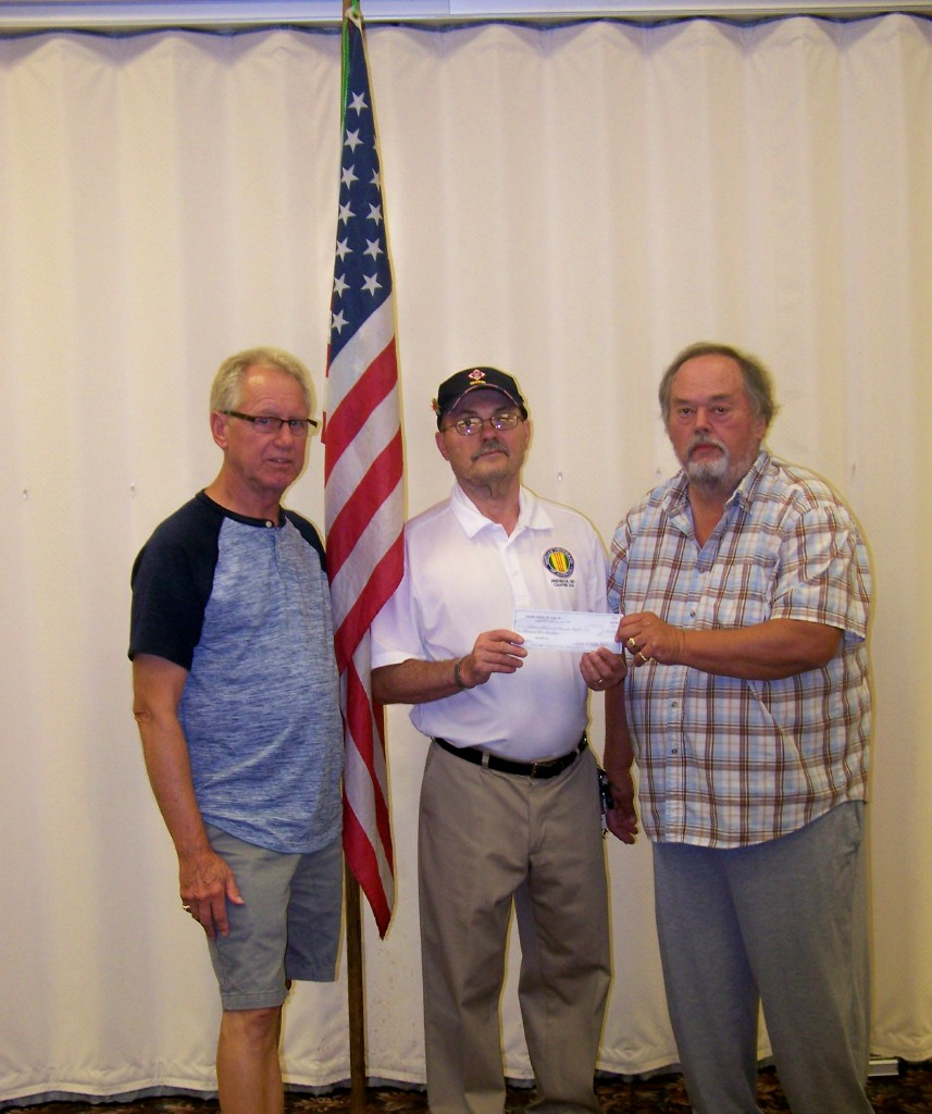 Check Presentation - Vietnam Veterans of America Gary Compher
