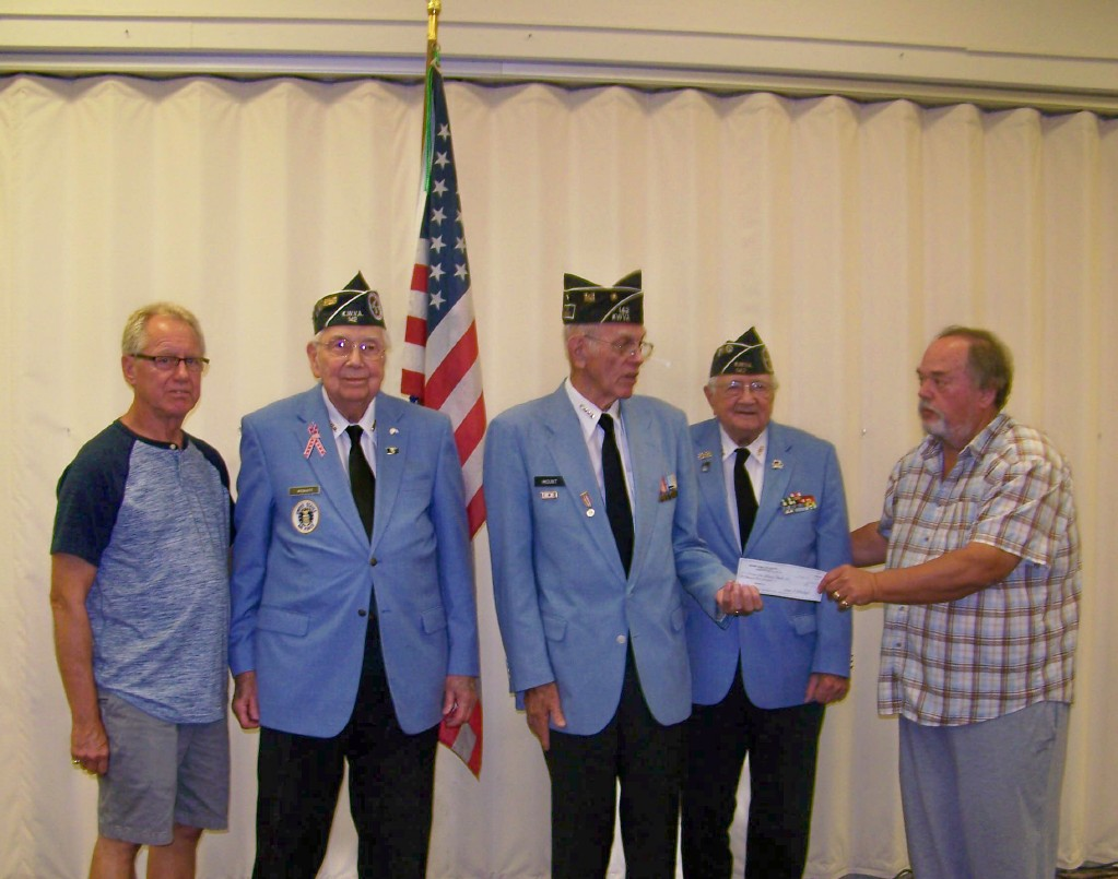 Check Presentation - Korean War Veterans